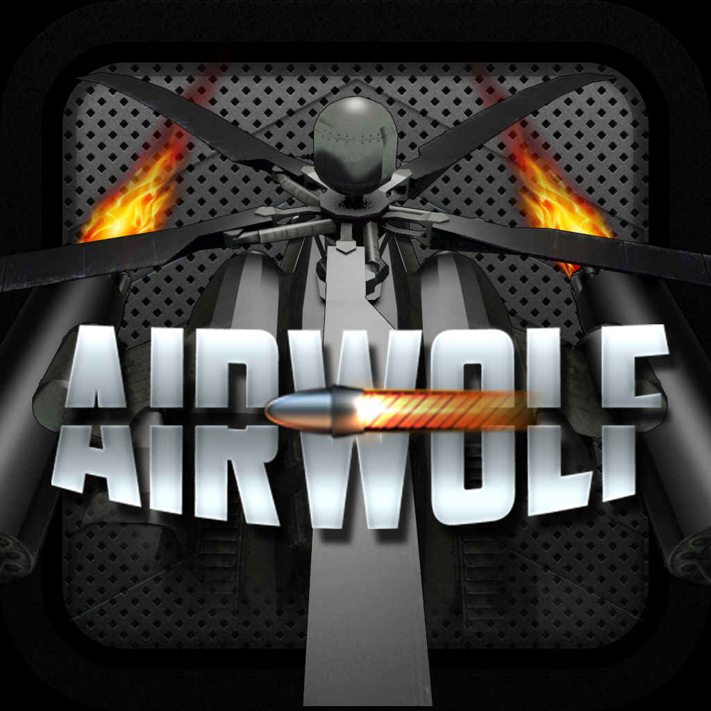 AIRWOLF ATTACK HELICOPTER